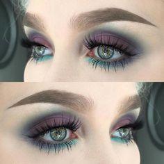 Fascinating purple eye makeup look for green eyes Loading. Fascinating purple eye makeup look for green eyes Makeup Looks For Green Eyes, Purple Eye Makeup, Green Makeup, Eyeshadow For Green Eyes, Eyemakeup For Green Eyes, Dark Smokey Eye Makeup, Red Eyeliner, Bold Eye Makeup, Purple Smokey Eye
