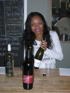 "Black Owned Wineries - ""Wine is Complicated, We Make Tasting Simple"" Do not drink but this is nice. Black Girl Magic, Black Girls, Black Women, Black Image, Photo Black, My Black Is Beautiful, Beautiful Women, Beautiful Eyes, Beautiful Pictures"