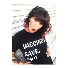 Vaccines Save, Bro. Tees for kids and adults from Wire and Honey. www.wireandhoney.com