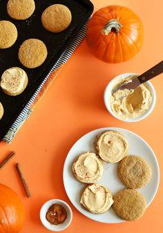 Vegan Pumpkin Sugar Cookies - GoodHousekeeping.com