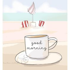 "1,358 Likes, 17 Comments - Heather 🌸 Stillufsen (@heather_rosehill) on Instagram: ""Good ☕️ Morning #heatherstillufsen #coffee #coffeetime #coffeeart #coffeemug ⛱"""