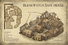 Bleakwatch Safe House by Hapimeses on DeviantArt