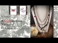 Making a 1930's Inspired Necklace with Jesse James Beads and Randee from Thunderhorse Descendant - YouTube