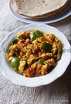 #Paneer #Bhurji, Paneer Recipes -- goes really well with #Roti or bread.