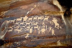 "Here, at the ""world's longest art gallery,"" you'll find forty miles of ancient petroglyphs and pictographs."