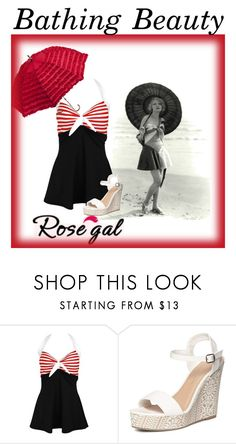 """Bathing Beauty"" by jostockton ❤ liked on Polyvore featuring Dorothy Perkins and ROSEPC2017"