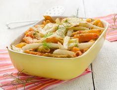 Fenchelauflauf mit Nudeln - Rezept - ichkoche.at Cordon Bleu, Frittata, Polenta, Risotto, Potato Salad, Macaroni And Cheese, Eat, Cooking, Ethnic Recipes