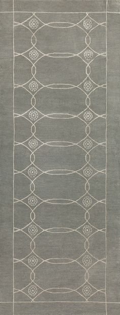 Sparta, Slate - This collection combines traditional patterns with a modern day aesthetic to create perfect designs for a transitional style.  These classically refined and ethically crafted Tibetan rugs combine the unique style and unequaled craftsmanship that New Moon is best known for.