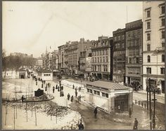 Tremont Street and Common looking North, Feb. 24, 1902 by Boston Public Library, via Flickr