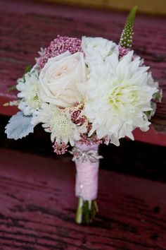 soft pinks with #dahlias (photo by Megan Plenge Photography)