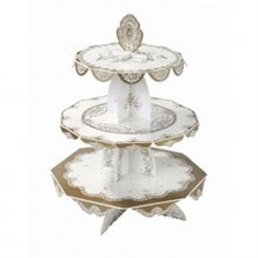 Party Porcelain Cake Stand  $14