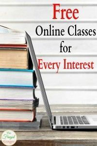 Online Classes for Every Interest Learn a new skill or make a career change with these free online classes!Learn a new skill or make a career change with these free online classes! Free Courses, Online Courses, Free College Courses Online, Online College Classes, Education College, Free Classes Online, Free Online Language Courses, Business Education Classroom, Online Learning Sites