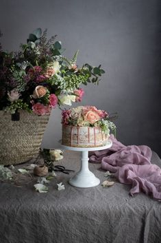 Milk and honey cake and the Bibbyskitchen cook book | Cake Friday Sponge Recipe, Enchanted Tree, World Of Asians, Raindrops And Roses, Plum Jam, Pink Food Coloring, Honey Cake, Still Life Photos, Summer Berries
