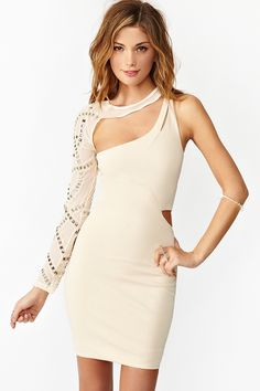 Heart On My Sleeve Dress in Clothes Dresses Body-Con at Nasty Gal