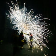 fireworks as butterfly  http://wefirstmet.com