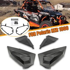 Upper lower High Max Clearance Radius Bar Kits For Polaris 14-17 RZR XP 1000