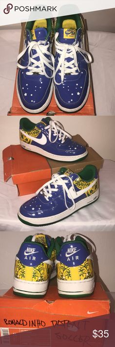 Nike Air Force 1 PRM Nike Air Force 1 PRM Ronaldinho edition... great condition. Nike Shoes Sneakers