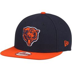 ff228530ea4 Chicago Bears New Era Southside Snap Original Fit 9FIFTY Adjustable  Snapback Hat - Navy -