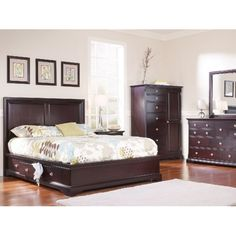 French+Quarters+II+King+Bedroom+Suite+with+Two+Underbed+Storage+Units+|+HOM+Furniture