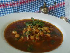Hellena  ...din bucataria mea...: Supa marocana cu naut - de post Falafel, Chana Masala, Curry, Beef, Ethnic Recipes, Food, Meat, Curries, Falafels