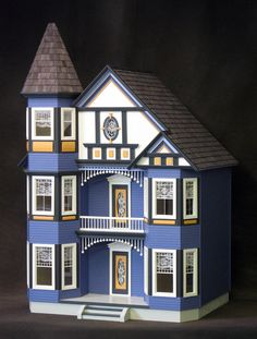 The Painted Lady Dollhouse Kit by Real Good Toys.