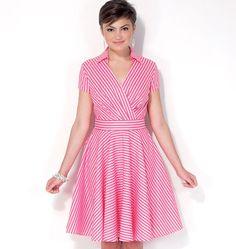 M7081, Misses' Dresses