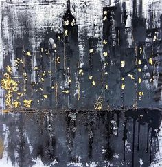 Nocturne -  Acrylic, Ash, polish, iron on canvas, 100x100cm @betty_brave 🌙 #art #artwork #abstract #abstractart #architecture #raw #light #black #gold #concept #commission #contemporary #design #decor #interior #passion #women #paint #modern #minimal #london #milan #love #space #worldwide #instaart #inspiring #instalike