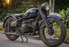 Ретромотоцикл М72 / Блог им. hammerbike / БайкПост