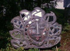 exterior garden sculptures, made by Alexandra Higgins, 2012