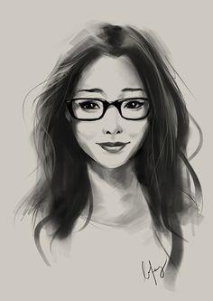 Amazing Portrait Illustrations by BoFeng #digitalart #digitalillustration #portraitillustrator #illustrationart