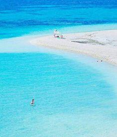 Marmari beach in Evia. Most Beautiful Beaches, Beautiful Places To Travel, Greek Sea, Scenery Pictures, Greece Islands, Tropical Beaches, Santorini Greece, Paradis, Greece Travel