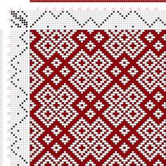 draft image: Page 57, Figure 6, Textile Design and Color, William Watson, Longmans, Green & Co., 8S, 8T