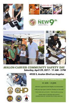 Avalon Carver Safety Day is Sat. April 29. Free car seat check 11 - 2 pm. @statefarm, @CurrenDPrice,Jr.