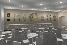The Royal Collection initiated in Krakow redesigned by Morris Associates, an international award winning exhibition design service. Museum Cafe, The Royal Collection, Service Design, Coffee Shop, Photo Wall, Culture, Table, Furniture, Home Decor