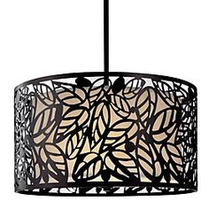 @Overstock.com - This modern hanging light is ideal for any room that features contemporary decor. The fixture has a leaf design that is eye catching and will add character to a room. It includes everything needed for the chandelier to be professionally installed.http://www.overstock.com/Home-Garden/Metal-Leaf-Hanging-Light/3488813/product.html?CID=214117 $119.99