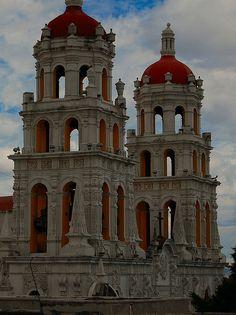 Iglesia de la Compañía de Jesús, Puebla, Mexico.