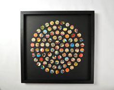 Comic book circle of dots
