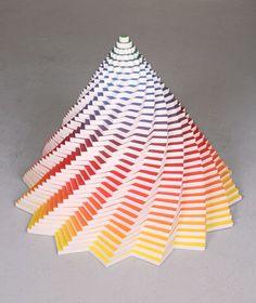Paper Sculptures by Jen Stark