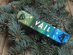 Mini Snowboard Christmas Ornament Personalized just by ThePhotoHog