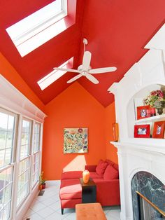 Painting Rooms With Cathedral Ceilings Design, Pictures, Remodel, Decor and Ideas - page 5