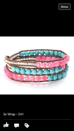 Pink and Blue JOYA wrap, perfect with sleeveless top or dress.