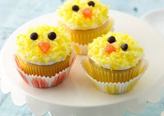 The cutest and most adorable Easter cupcakes from around the internet. Find chick cupcakes, bunny cupcakes, lamb cupcakes and carrot cupcakes. Lamb Cupcakes, Easter Bunny Cupcakes, Easter Treats, Frost Cupcakes, Animal Cupcakes, Easter Food, Cupcake Recipes, Cupcake Cakes, Cupcake Ideas