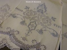 ■ antique lace and linen - I - Rudoobuwanda-Zu