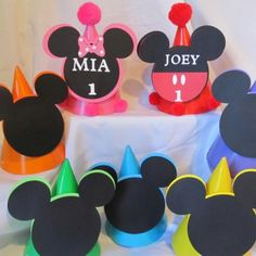Mickey party hats