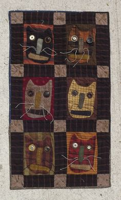 Cat Quilt / Pattern by Cheri