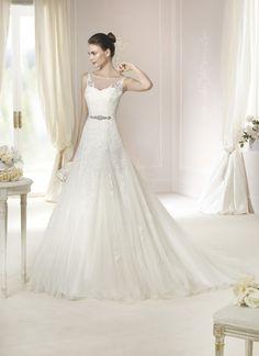 Brautkleid Nieves aus der White One Brautmoden Kollektion 2015 :: bridal dress from the 2015 collection by white one.