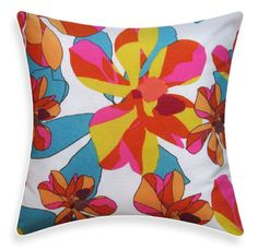 Marimekko Pillow Cover - Magnolia Turquoise. $27.95, via Etsy.