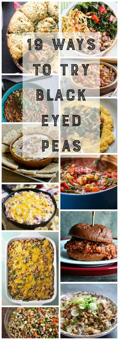 19 ways to eat black eyes peas that aren't the same old boring thing you remember eating growing up