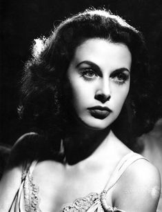 Hedy Lamarr (1914-2000) - Austrian-born American actress and inventor. Photo by Clarence Sinclair Bull