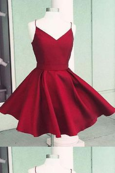 f8dff76cc435 Cute Homecoming Dresses, Homecoming Dresses Short, Homecoming Dresses  A-Line, Open Back Homecoming Dresses #Homecoming #Dresses #Short #Cute  #ALine #Open ...